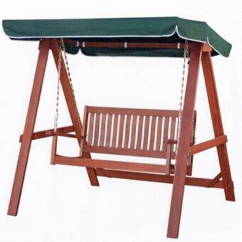 Tunisia Wooden 2 Seater Swing with Canopy