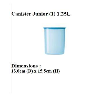 Harga Tupperware One Touch Canister Junior (1) 1.25L