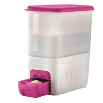 Tupperware Rice Smart Dispenser 10kg - Pink