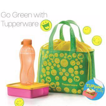 Harga Tupperware TUPpao Lunch Set + Smiley Friend Bag