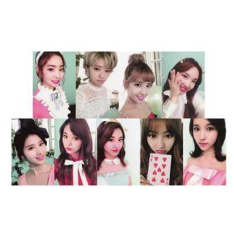 TWICE TWICECOASTER LANE2 A Album Kpop Photo Card Self Made PaperCards Autograph Photocard XK405
