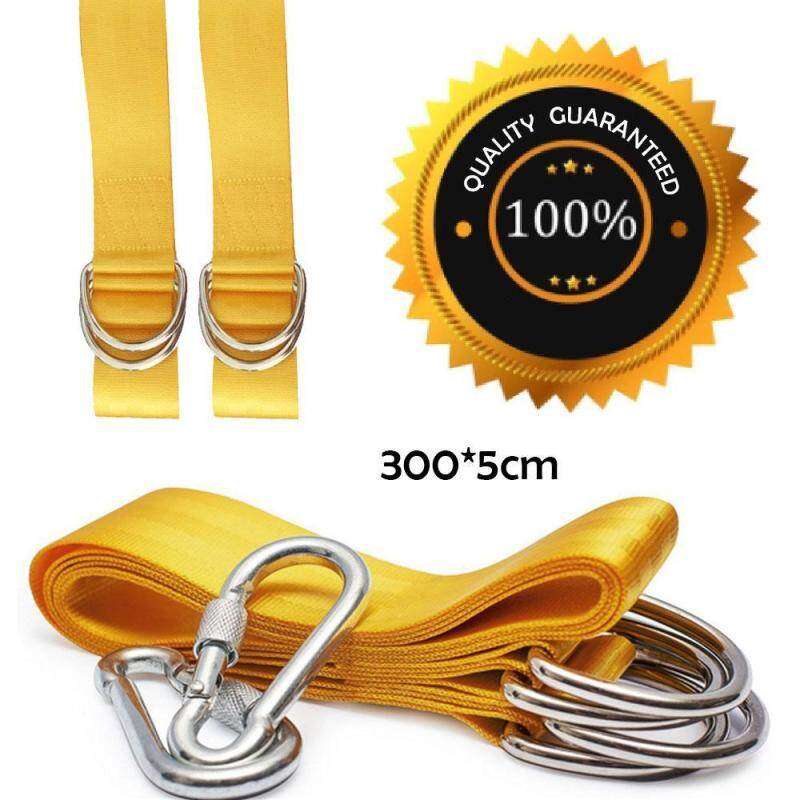 Buy Umiwe Extra Long 9.8 FT Tree Swing Hanging Strap Kit For Hammocks, Bench, Spinner, Tire Platform Swings (2 Straps With Safety Lock Carabiner Hooks),Holding 2200lbs Malaysia