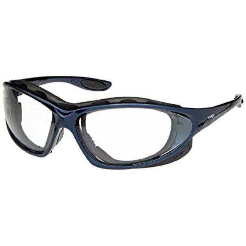 Buy Uvex S0620 Seismic Safety Eyewear, Metallic Blue Frame, Clear Hardcoat Lens/Headband Malaysia