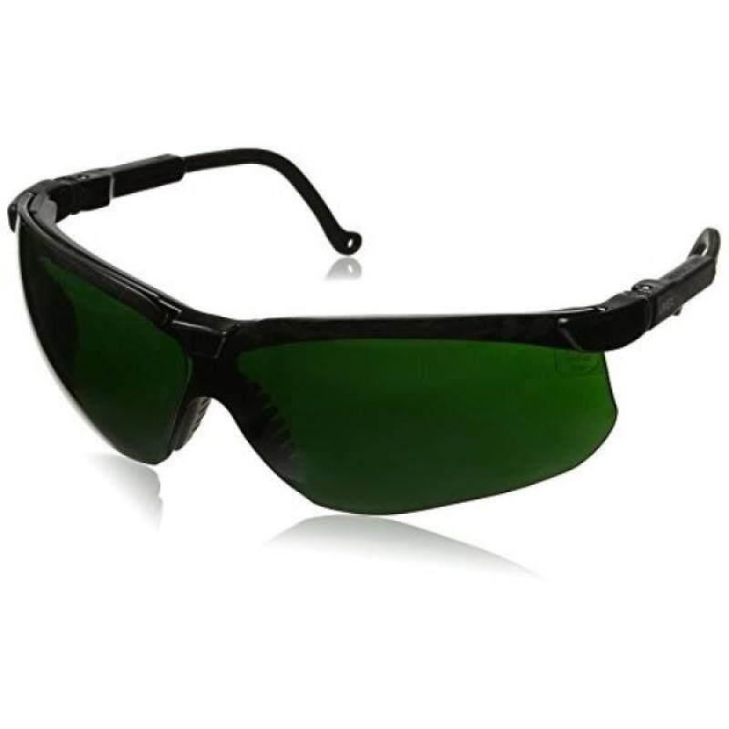 Buy Uvex S3208 Genesis Safety Eyewear, Black Frame, Shade 5.0 Infra-Dura Ultra-Dura Hardcoat Lens Malaysia