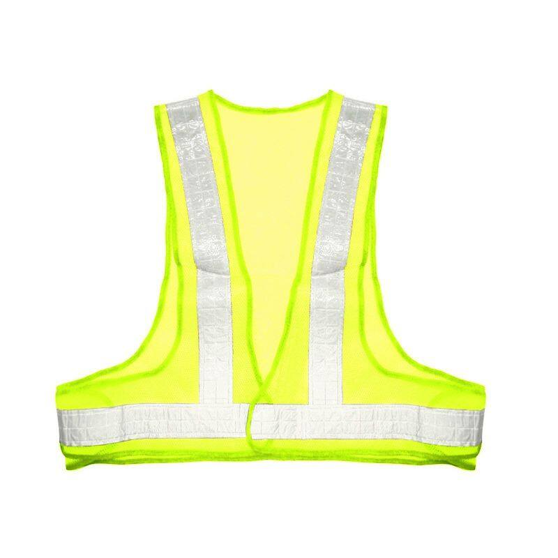 Vanker New Safety Reflective Vest Visibility Security Stripes Waistcoat Protective Gear Black+Gray