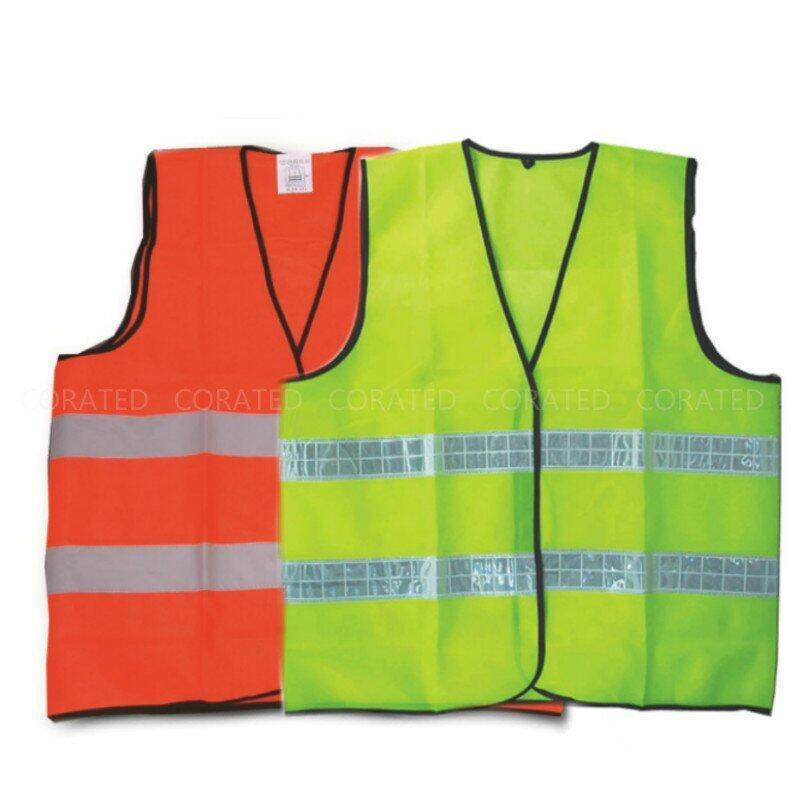 Velco Thin Reflective Safety Vest Coat - Set
