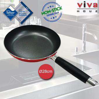 Viva Houz 28cm High Quality Non-Stick, Teflon Coated Frying Pan, Cooking Pan