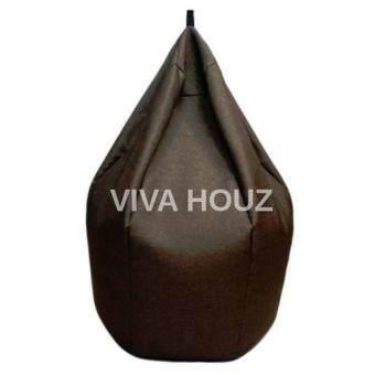 VIVA HOUZ - MULBERRY Bean Bag (Water Resistant, XL Size) Dark Brown