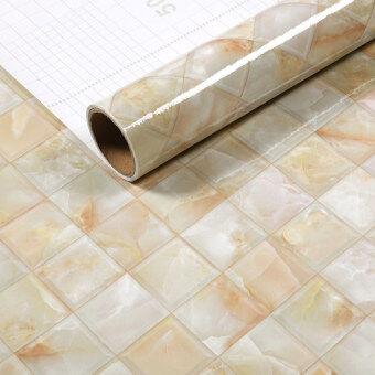 Wallpaper mosaic table furniture refurbished stickers goose egg stone