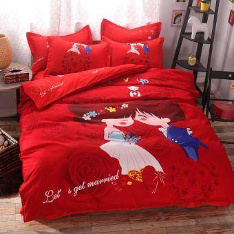 Wedding Bedsheet with soft cotton material