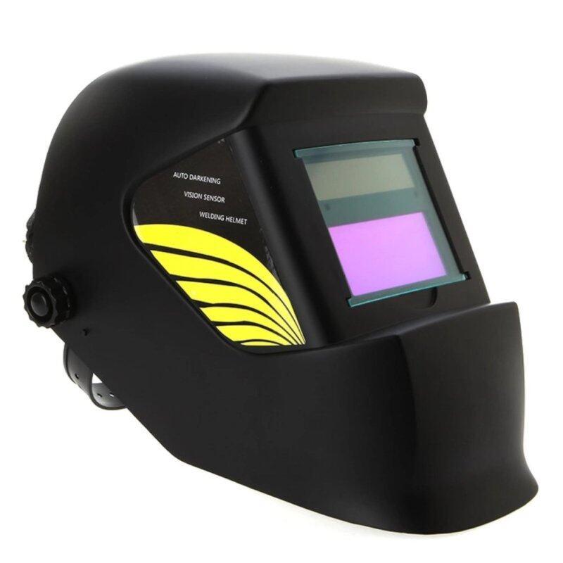 Welding Helmet Solar auto dark & shading for TIG MMA MIG (Black)