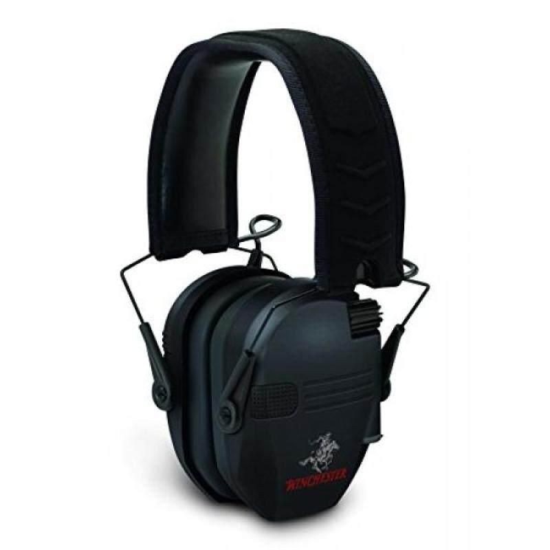 Buy Winchester Razor Slim Profile Electronic Muff, Black Malaysia