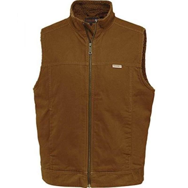 Buy Wolverine Mens Porter Sherpa Lined Vest, Chestnut, Malaysia