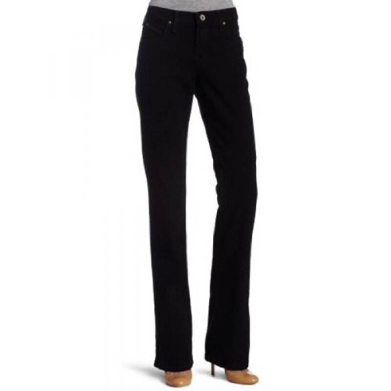 Buy Wrangler Womens Cowgirl Cut Ultimate Riding Jean Q-Baby Midrise Jean, Black Magic, 17x34 Malaysia