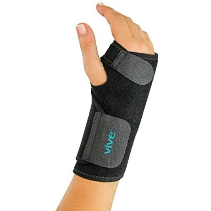Buy Wrist Brace by VIVE - Universal Support for Carpal Tunnel, Tendonitis, Wrist Pain & Sports Injuries - Removable Splint - One Size Fits Most (Right Wrist) Malaysia