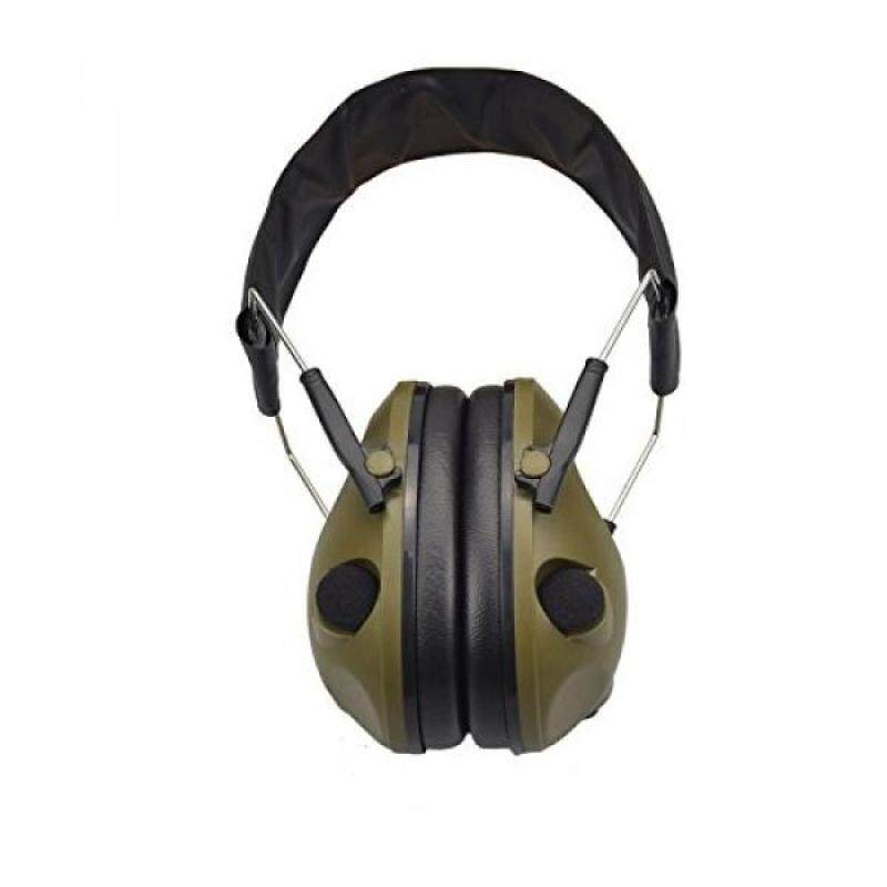 Buy X-Aegis Ear Muffs Noise Protection ,Noise Cancelling Hunting / Shooting Sound Earmuffs NRR 20dB,Army Green Malaysia