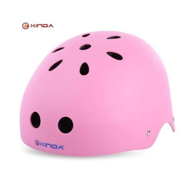 Buy XINDA ADJUSTABLE MOUNTAINEERING HELMET HEAD SAFETY GUARD PROTECTIVE GEAR RESCUE TOOL (PINK) Malaysia