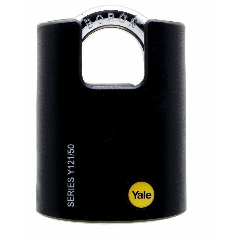 Buy Yale Y121/50/132 Boron Steel Shackle with Plastic Cover Padlock Malaysia