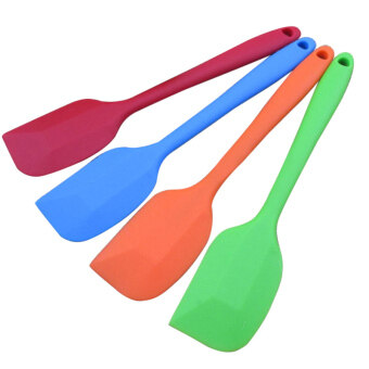 YBC 4pcs Silicone Baking Tool Cake Butter Spatula Batter Scraper