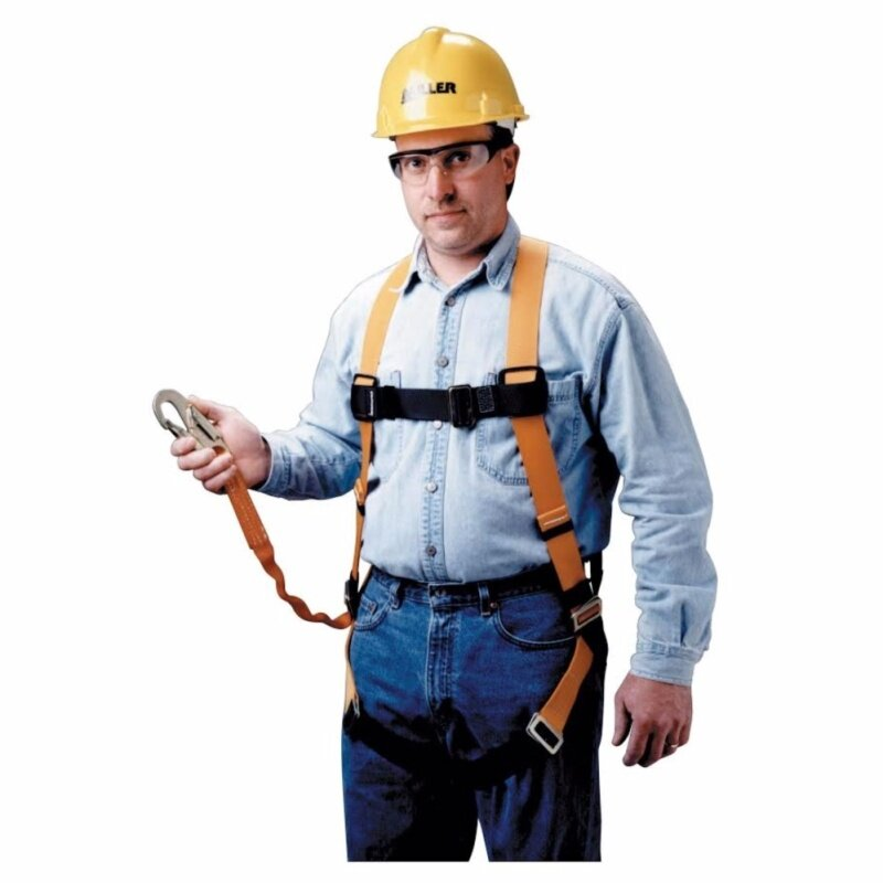 Buy YESLINE High Quality Full Body Harness Built-in Lanyard & Snap Hook YL5123 Malaysia