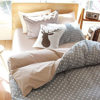 Harga Zara Korean stars Japanese-style cotton bed Li