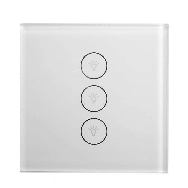 Zigbee Smart Wifi Touch Wall Light EU Switch Panel for Amazon Alexa Google Home