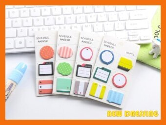 ZK305 - Schedule Marker (6 in 1) Sticky Notes (Type 3)