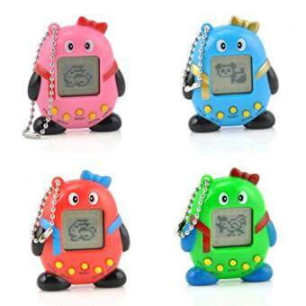 Harga 1Pcs Gift Toy Multicolor Virtual Pets In One Penguin ElectronicDigital Pet Machine Game Random Color