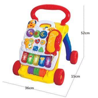 Detail Images 2 in 1 Musical Baby Activity Walker & Childrens Learning Centre Latest