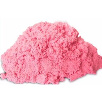 2KG Non Toxic DIY Kinetic Magic Play Sand Box Set Arts & Crafts Toys for Kids (Pink Color Sand)