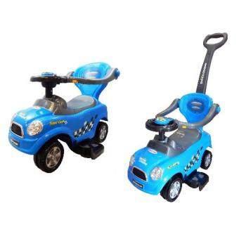 3 in 1 push bar stroller kids ride on walker car