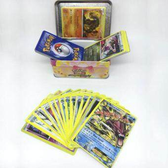 Harga 42Pcs/Box TCG Cards Pokemon Monster Figures English GUARANTEED RAREHOLO