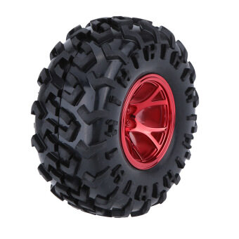 Harga 4Pcs/Set 1/10 Monster Truck Tire Tyres for Traxxas HSP Tamiya HPIKyosho RC Model Car