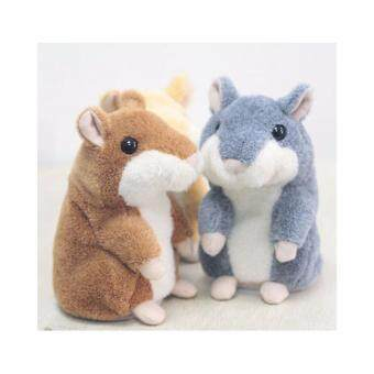Adorable Toy Mimicry Pet Speak Talking Record Hamster Mouse Plush Kids Toy