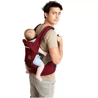 AIEBAO Baby Carrier Waist Belt Hipseat Red - 3