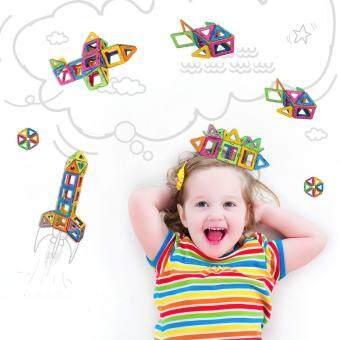 Allwin 40-Pcs Magnetic Blocks Set Kids Magnetic Toys ConstructionBuilding Tiles Blocks for Creativity Educational - 3