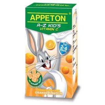Appeton A-Z Kid's Vitamin C (Orange) 100'S