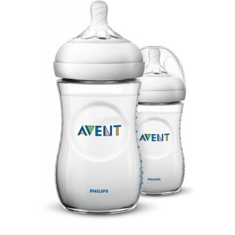 Avent Natural Bottle 9oz / 260ml x 2 (Twin Pack)