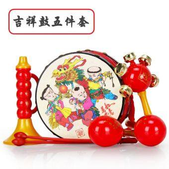 Baby 3-6-12, newborn children suit hand drum