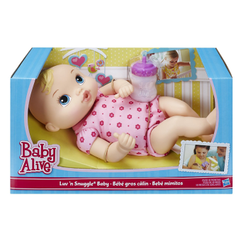 Harga Baby Alive Luv 'n Snuggle Baby Doll Blond
