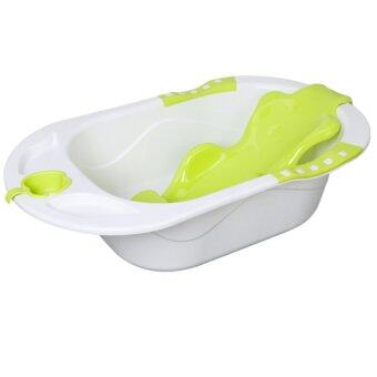 Baby Bath Tub With Support   Green