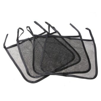 Harga Baby Carriage Baby Trolley Net Bag Seat Pocket StrollerAccessories(Black)
