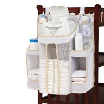 Harga Baby Diaper Holder Organizer Caddy Wipes Storage Shelf InfantChanging Clean Pocket Nursery Stacker Dex
