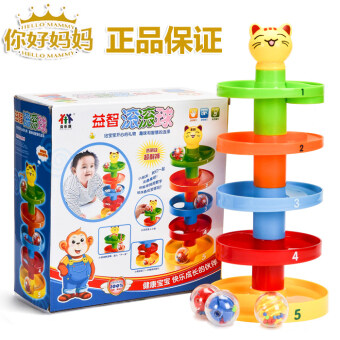 Harga Baylor Kang Yizhi slip Ball Tower rotating with Bell color