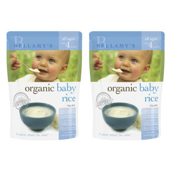 Harga Bellamy's Organic Baby Rice 125g Twin Pack