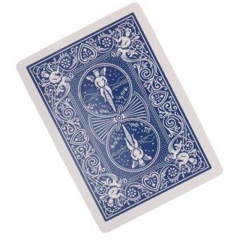 Harga BolehDeals Push a Cigarette Through a Playing Card CigaretteThrough Card Magic Tricks