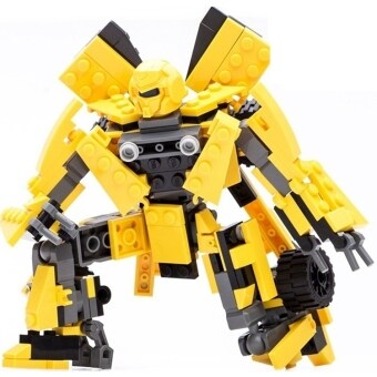 Harga Bumble Bee Transformer Car Robot Magnetic Puzzle Learning EducationKids Pipe Plug Match Building Block Puzzle Pieces Blocks