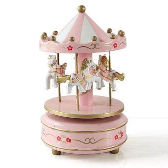 Harga Carousel merry-go-roundClockwork music box Children Gifts Toy (14#)