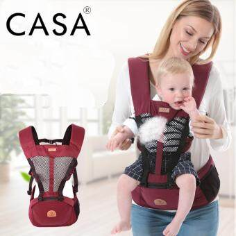 Harga Casa Quality Baby Hipseat Baby Carrier - Red