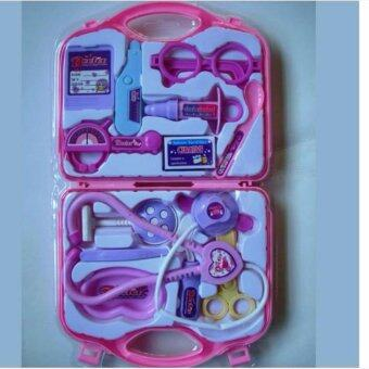Harga Children Kids Play and Learn Fun Game Happy Mini Play Case Set -Medical Doctor Pink